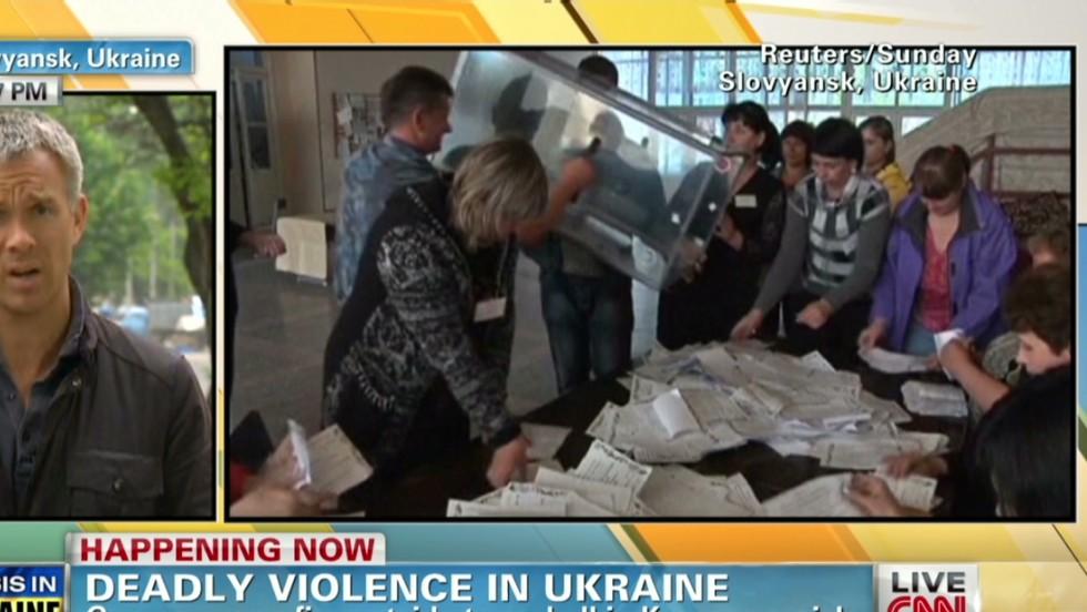 Ukraine's Donetsk region asking to join Russia, separatist leader says
