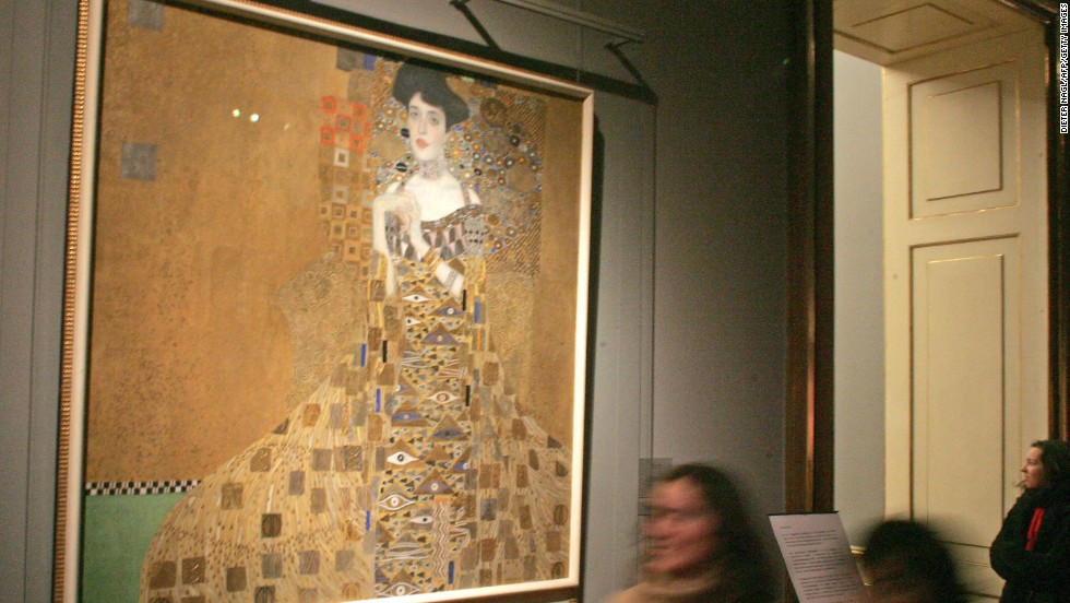 This 1907 Gustav Klimt painting <em>Portrait of Adele Bloch-Bauer I</em> sold for $135 million -- the highest sum ever paid for a painting at the time -- in June 2006 to billionaire Ronald Lauder, according to the New York Times. Adele was the wife of Ferdinand Bloch-Bauer; a wealthy industrialist who sponsored the arts and supported Gustav Klimt.