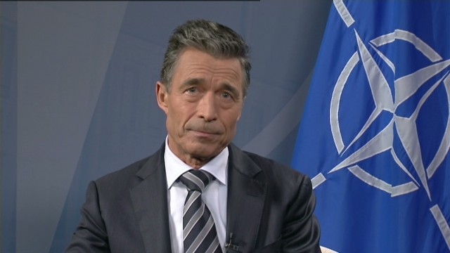 NATO chief talks Ukraine, Afghanistan