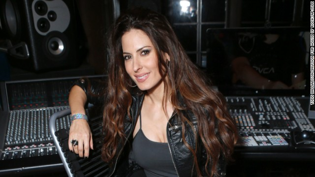 Kerri Kasem attends the 98.7 Saves Christmas Party at The House of Rock on December 5, 2012, in Los Angeles.