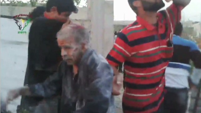 Chlorine gas attack alleged in Syria