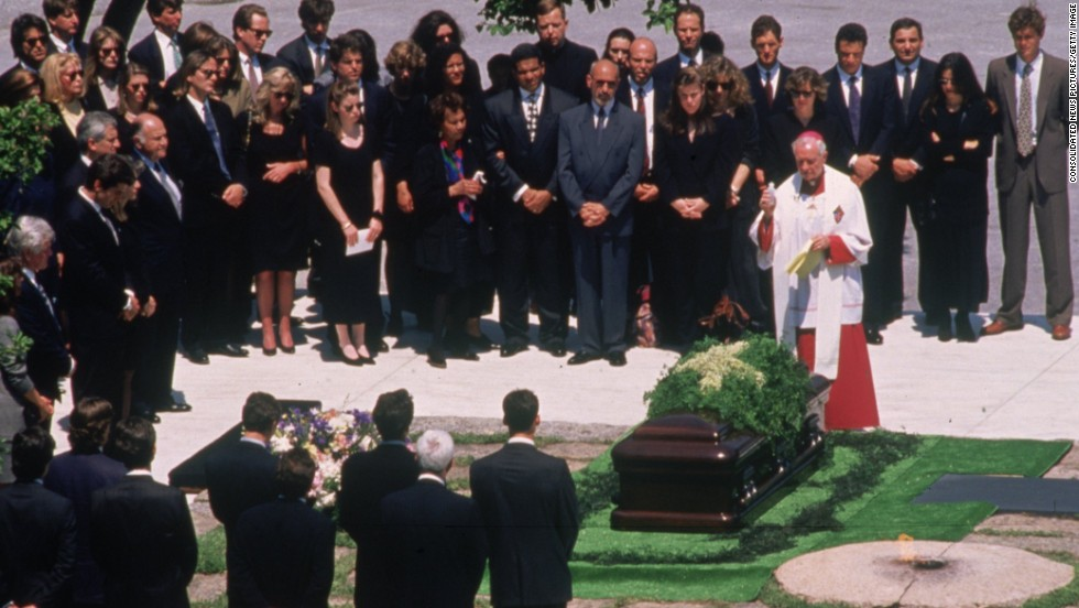 Image result for john f kennedy laid to rest