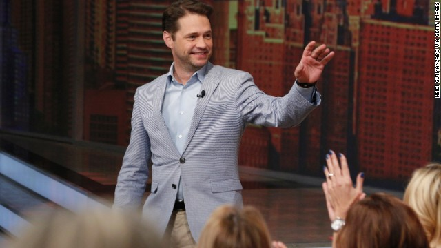 "Jason Priestley has released his memoir, aptly titled ""Jason Priestley: A Memoir"""