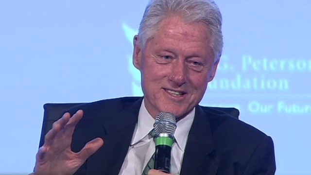 Bill: Hillary's in better shape than me
