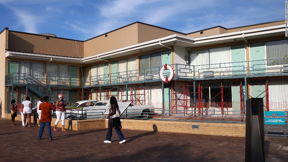 "While you're in Memphis, visit the site of Dr. Martin Luther King Jr.'s assassination on April 4, 1968. The Lorraine Motel, shown here, is now part of the <a href=""http://civilrightsmuseum.org"" target=""_blank"">National Civil Rights Museum</a>."