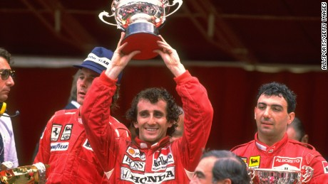 Alain Prost won the Monaco Grand Prix four times -- including here in 1988.