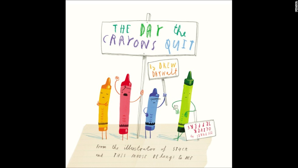 "<strong>Book of the year, kindergarten through second grade:</strong> ""The Day the Crayons Quit"" by Drew Daywalt, illustrated by Oliver Jeffers"