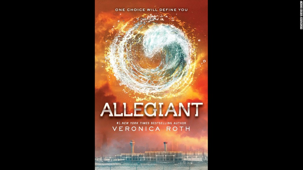 "<strong>Book of the year, teens:</strong> ""Allegiant"" by Veronica Roth"