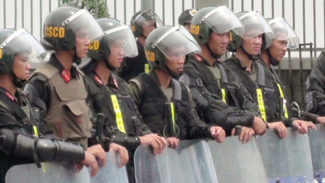 Anti-China riots in Vietnam