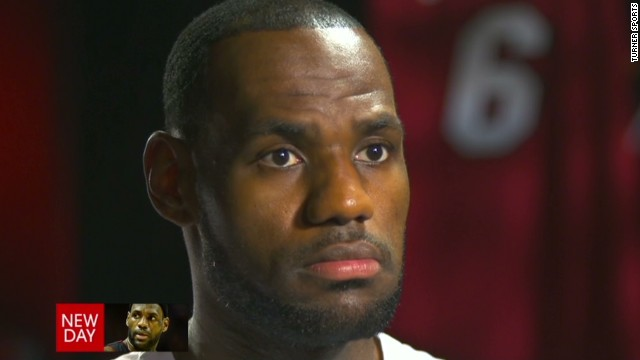 LeBron addresses talk of an NBA boycott
