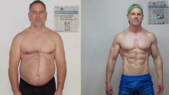 Man loses weight, wins $50k