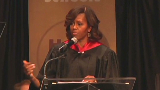 First Lady: Some schools 'aren't equal'