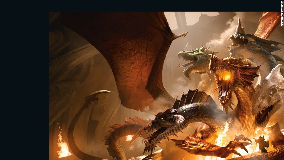40 years later, 'Dungeons & Dragons' still inspiring gamers