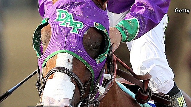 California Chrome can use a nasal strip