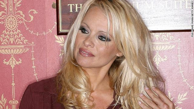 [File photo] Pamela Anderson at the Liverpool Empire on August 19, 2010 in Liverpool, England.