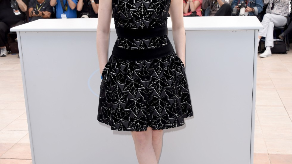 Jessica Chastain takes in the scene at Cannes on May 18.