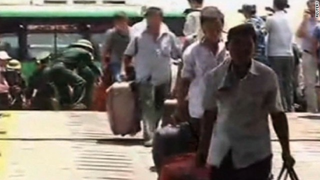 China evacuates citizens from Vietnam