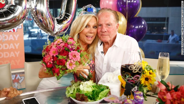 Kathie Lee Gifford and Frank Gifford were married for 29 years.