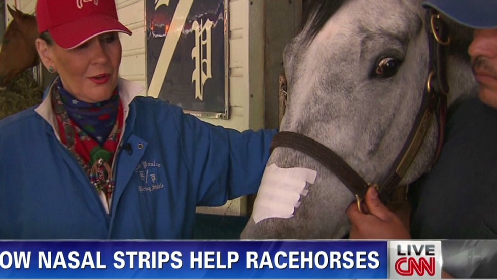 California Chrome can use nasal strip in Belmont Stakes, race officials say