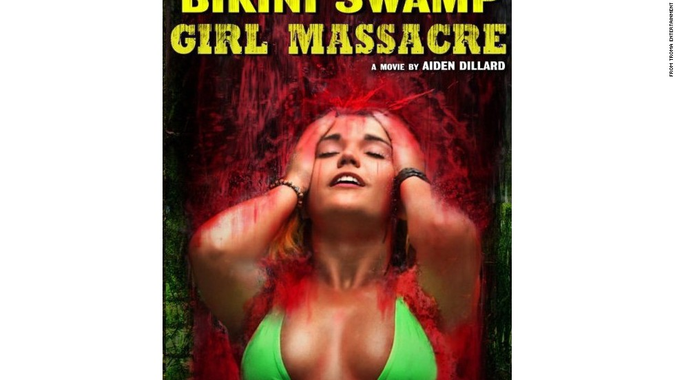 A surprising omission from this year's Palm D'Or shortlist,  'Bikini Swamp Girl Massacre' tells the harrowing tale of  a group of beautiful bikini-clad girls who go on a vacation in the swamp of the Florida Everglades, never to return (at least until Part 2).