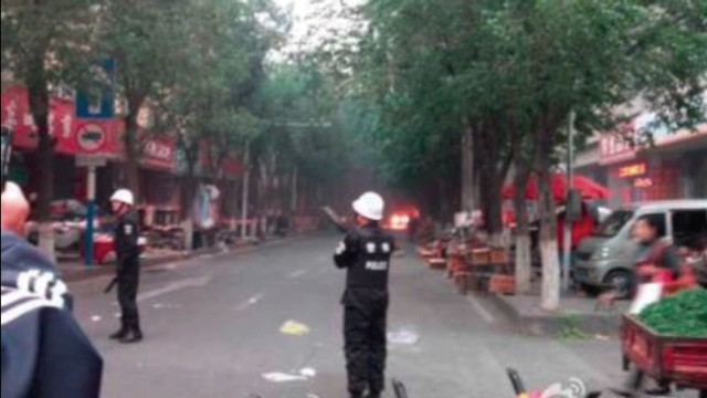 Explosions in Xinjiang region of China