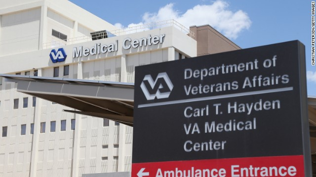 PHOENIX, AZ - MAY 08:  Exterior view of the Veterans Affairs Medical Center on May 8, 2014 in Phoenix, Arizona. The Department of Veteran Affairs has come under fire after reports of the deaths of 40 patients forced to wait for medical care at the Phoenix VA hopsital.  (Photo by Christian Petersen/Getty Images)