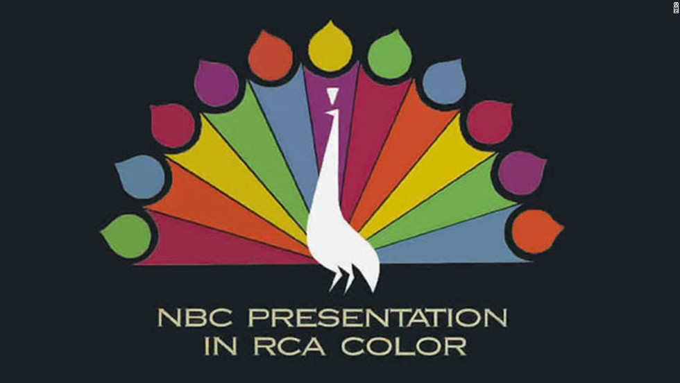 """The following program is brought to you in living color on NBC,""<a href=""http://www.youtube.com/watch?v=cqPSI6tEvyE"" target=""_blank""> the announcer intoned</a>. The 1965 fall season opened with almost all of the ""Peacock Network's"" prime-time schedule <a href=""http://www.earlytelevision.org/nbc_hatches_rainbow.html"" target=""_blank"">produced on color film</a>. By 1973, more than half of TV homes had a color set."