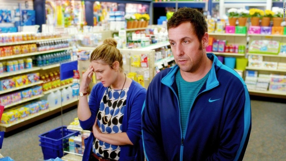 "The <a href=""http://www.rottentomatoes.com/celebrity/adam_sandler/"" target=""_blank"">critics usually hate</a> Adam Sandler movies. Audiences, however, love them. Not so with <strong>""Blended,""</strong> which made $46 million on a $40 million budget. However, overseas it has made $77 million, so if there's a ""Blended 2,"" you'll know who it's for."