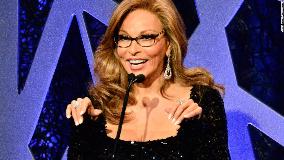 "Ay caramba! Raquel Welch (<a href=""http://www.cnn.com/2014/01/17/showbiz/gallery/famous-people-you-didnt-know-were-latino/index.html"">born Jo Raquel Tejada</a>) hardly looks 74 years old."