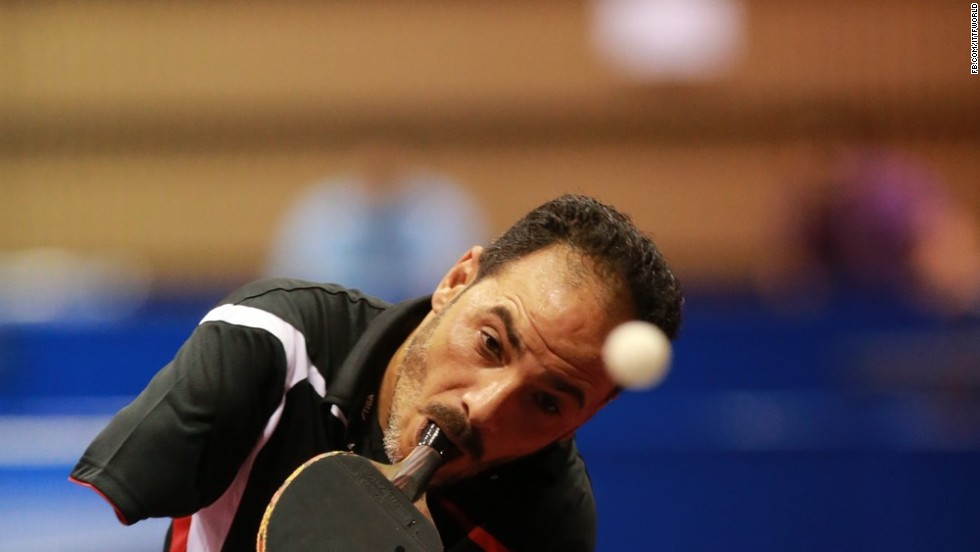 Ibrahim Hamadto is an Egyptian para-table tennis player and silver medalist in the 2013 African Para-Table Tennis Championships.