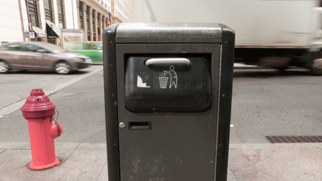 Smart garbage: The future of stink
