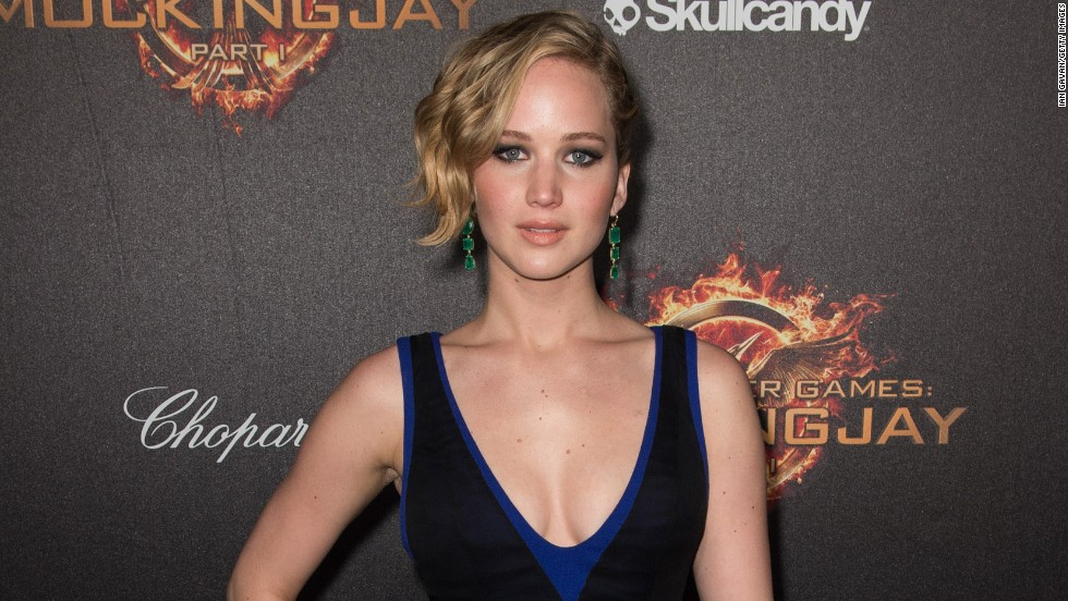 No. 5: Actress Jennifer Lawrence