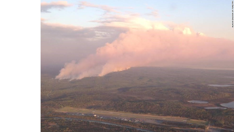 Wildfire scorches nearly 80,000 acres in Alaska