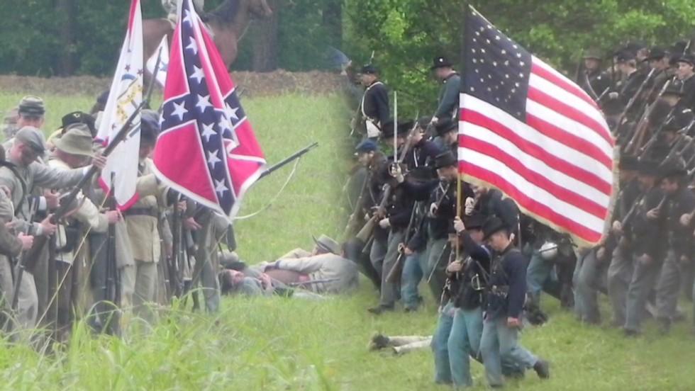 Fallen Civil War soldiers remembered - CNN Video