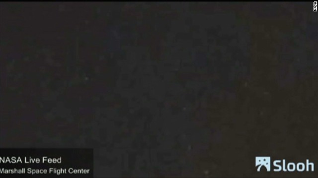 Slooh meteor shower visible to some