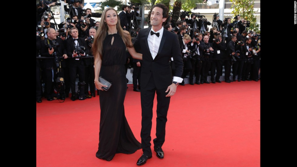 Lara Lieto and Adrian Brody on May 24.