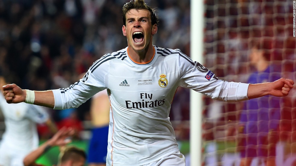 Gareth Bale has excelled since his $120 million move to Real Madrid from Tottenham. He helped the club win the Champions League and Spanish cup in his first season.