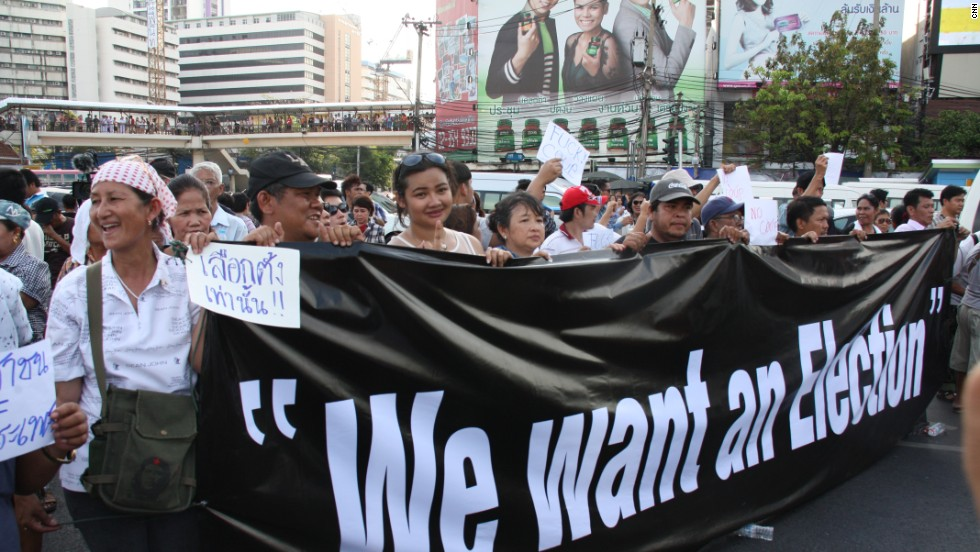 One of the most common things anti-coup protesters are telling CNN is that while neighboring Myanmar is developing economically and politically, Thailand is heading in the opposite direction -- and it used to be the other way round.