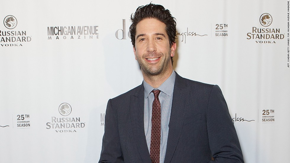 "David Schwimmer was praised for his actions in May 2014 <a href=""http://www.cnn.com/2014/05/27/showbiz/schwimmer-helps-police-stabbing/index.html"">after he showed police some video of a bloody brawl, helping authorities solve a crime.</a>"