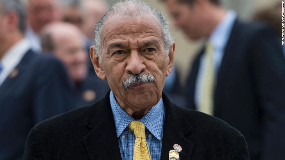 Democratic Rep. John Conyers, 85, is the third-oldest member of Congress, winning his first election 50 years ago. A judge ruled in May the Michigan Democrat will be allowed on the state's primary ballot after first being disqualified because two people collecting signatures on his behalf were not registered voters.