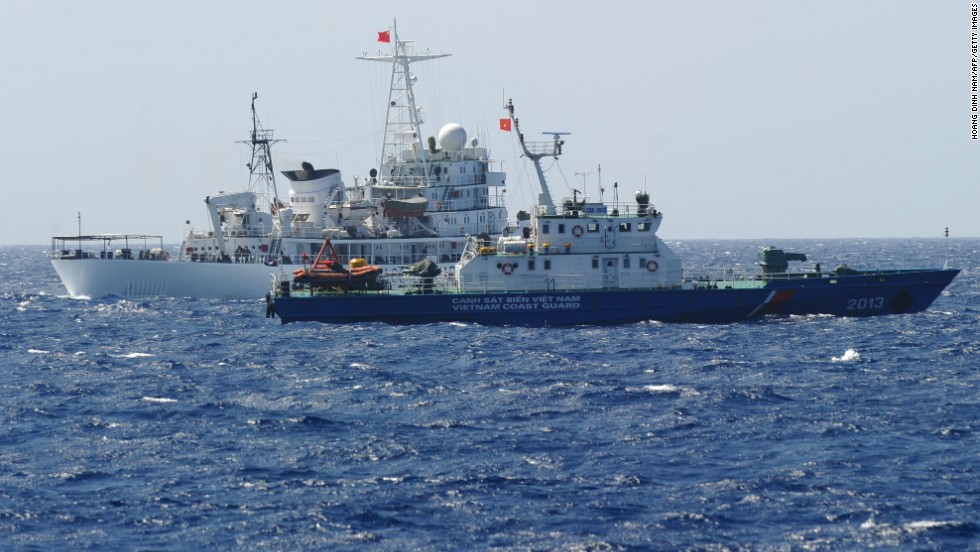 Vietnamese boat sinks after collision with Chinese vessel in disputed waters