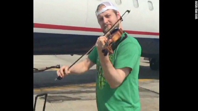 Pricey violin gets musicians grounded
