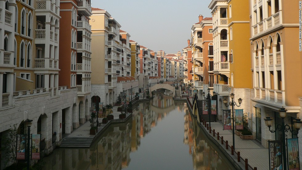 "A quiet canal in Venice or an elaborate copycat version of the Italian city in Hangzhou, eastern China? It can often be difficult to tell -- although this is definitely the latter for any readers who can't be sure. <br /><br />Bosker goes even further than Hack on the history of architectural mimicry and states that the concept is more than 2,000 years old in China alone.<br /><br />""If you go back to the third century BC, we have these imperial rulers in pre-modern China recreating the architecture of the enemies they conquered,"" she said.<br /><br />""You look at the templates that China has opted to copy and its things like the White House or the Eiffel Tower. They are two symbols of western success, achievement and money."""