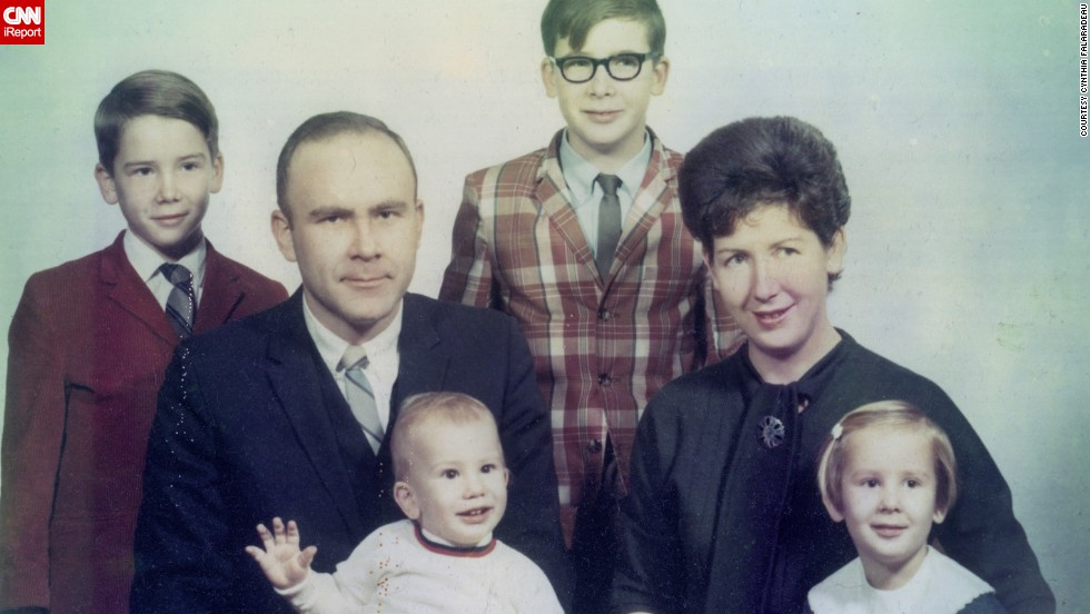 "<a href=""http://ireport.cnn.com/docs/DOC-948132"">Cynthia Carr Falardeau</a>, far right, said some of her sweetest memories come from the 1960s, including this family photo shot in Dayton, Ohio, in 1969. She described it as a ""time of innocence."""