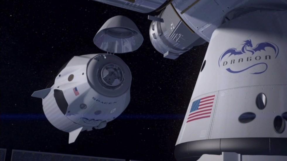 SpaceX unveils new spacecraft - CNN Video