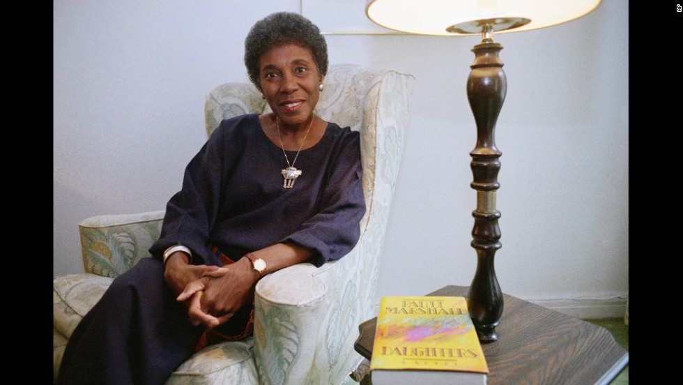"Paule Marshall's first novel, 1959's ""Brown Girl, Brownstones,"" depicts the life of a West Indian girl growing up in New York -- an upbringing similar to her own. The pull between traditional island life and the big city is a theme Marshall has often explored; she went on to write several more books and works of poetry. She was a MacArthur Fellow and winner of the Dos Passos Prize for Literature and American Book Award."