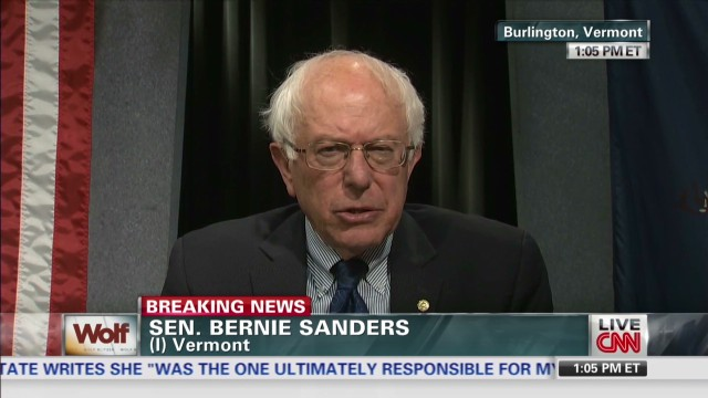 Sanders responds to Shinseki resignation
