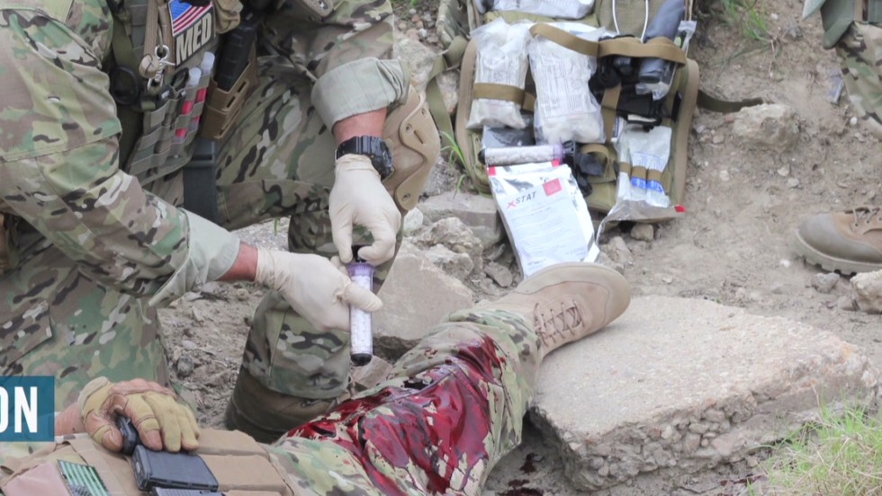 Tool can plug gunshot wounds in seconds