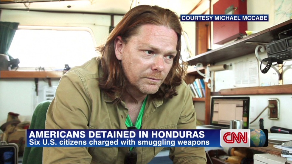 Dangerous detention for six Americans in Honduras after weapons charges