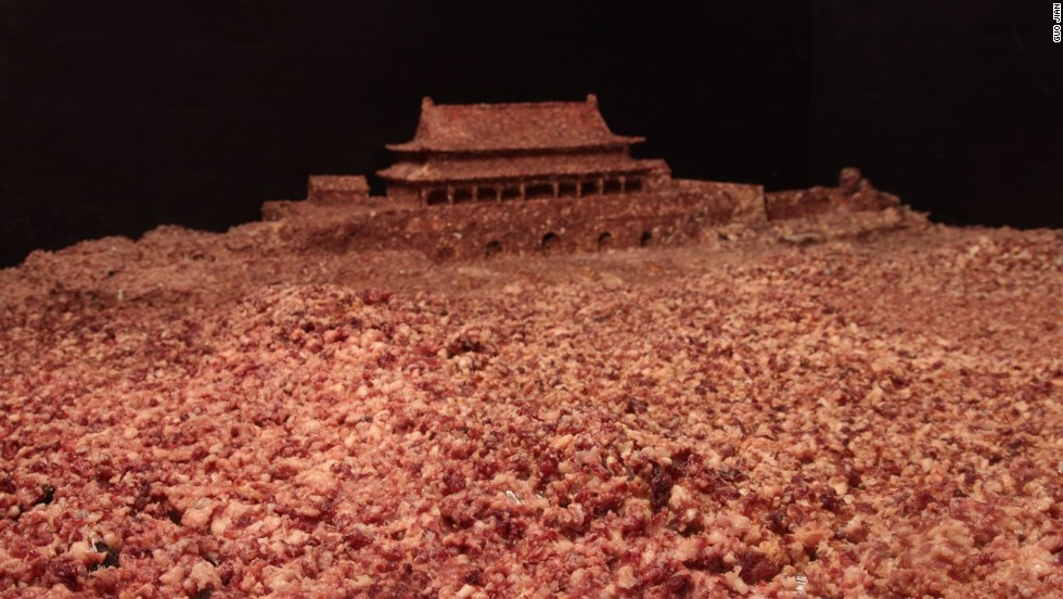 Guo showed images of the diorama to a reporter for a profile piece published in the Financial Times on May 30.